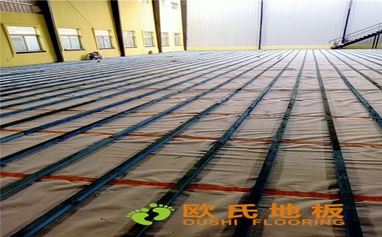 山西太原市小店区篮球馆木地板案例