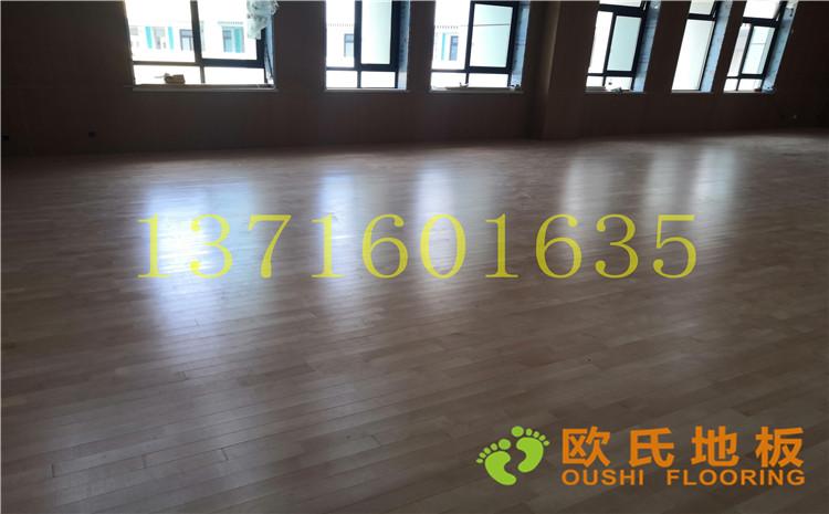 南京市埔口区实验小学体育馆木地板案例-欧氏运动木地板厂家