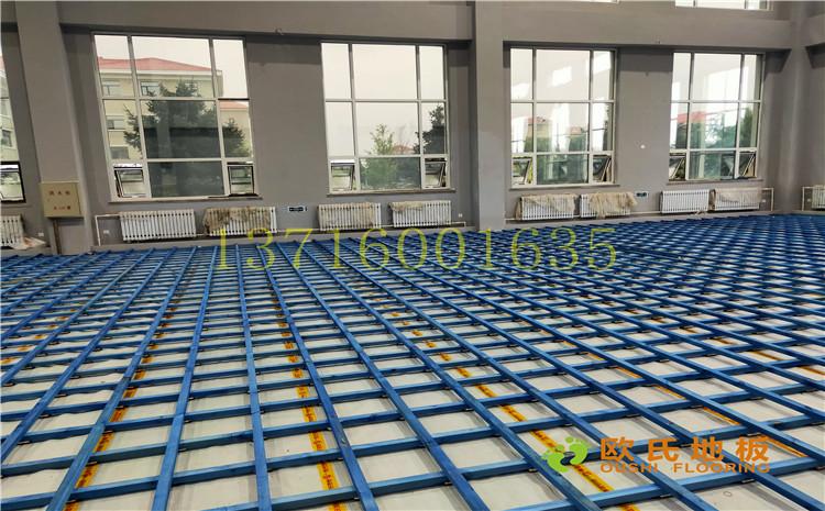 沈陽于洪機場體育館木地板案例